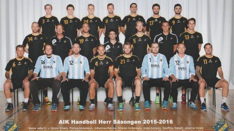 AIK Handboll Herrlaget 2015/2016