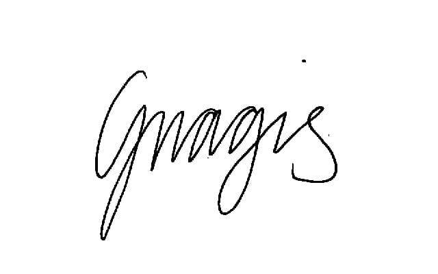 Autograf gnagis