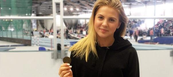 Emilia Sjöstrand, AIK Friidrott
