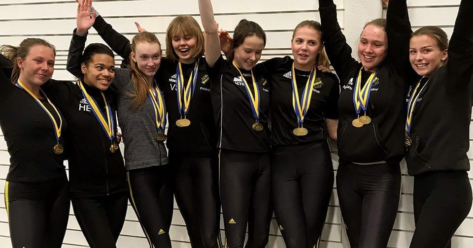 AIK:s vinnare i Kraftmätningens flickklass