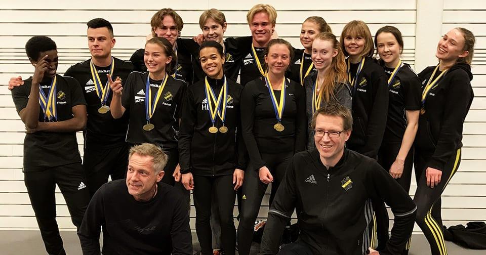 AIK:s deltagare i Kraftmätningen 2018