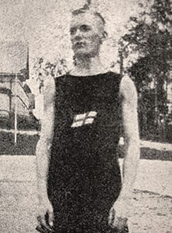 Erik Lindholm, AIK Friidrott